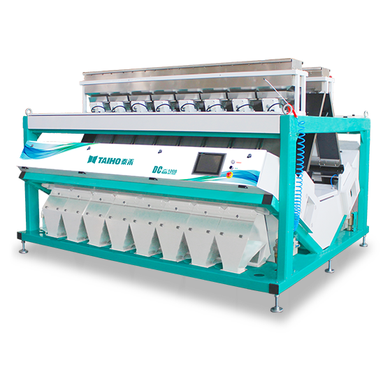 DC Serie Intelligent Color CCD Color Sorter of Large Capacities